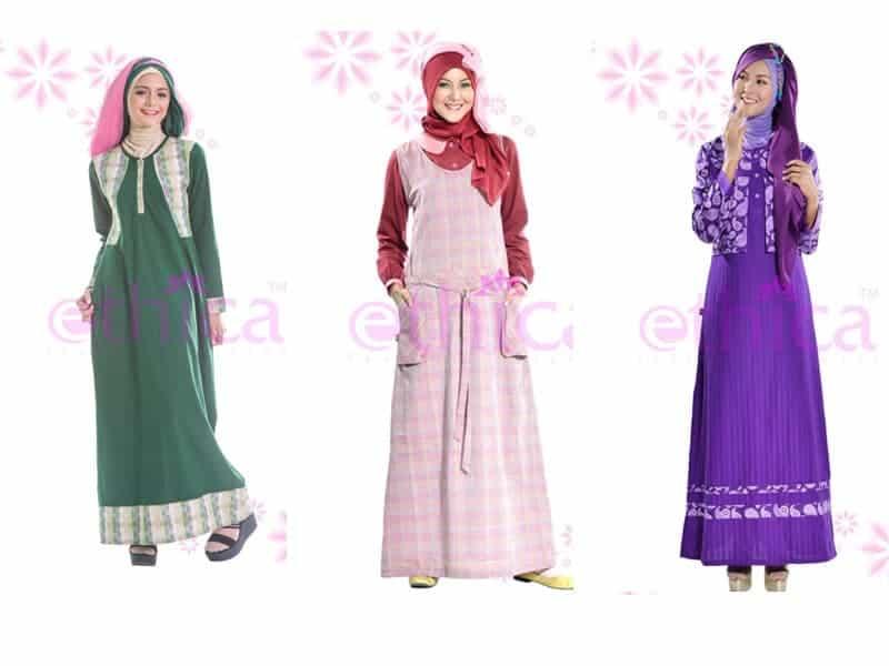 Baju Gamis Anak Ethica Hijab Nemo